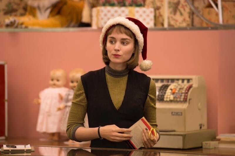 Rooney-Mara-Carol-Movie-Santa-Hat