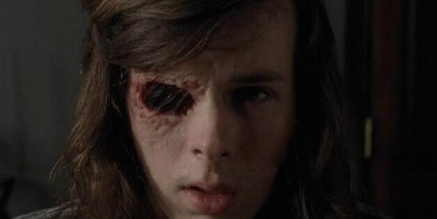 Carl's Eye - The Walking Dead