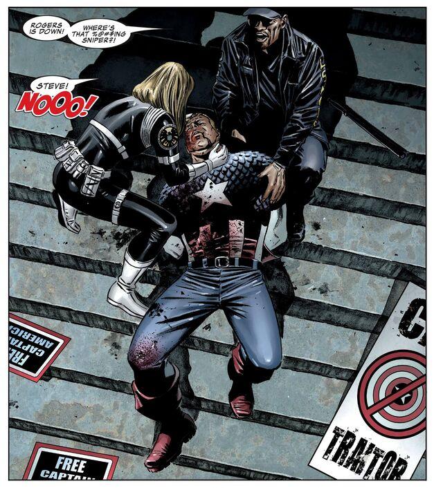 Death of Captain America Marvel Civil War