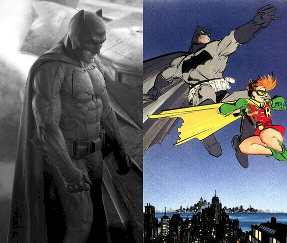 Batman BvS versus Dark Knight Returns
