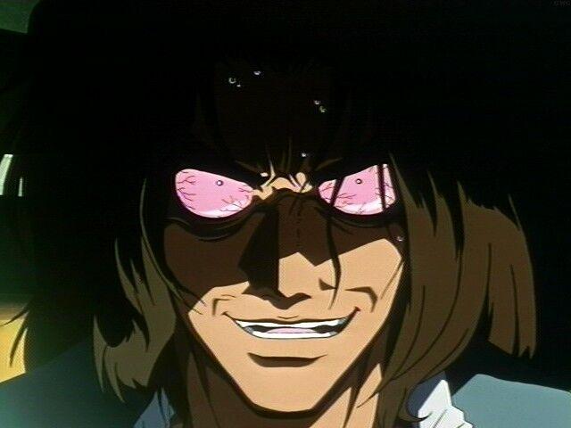 Asimov on Bloody Eye in Cowboy Bebop