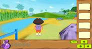 Dora 3D Backpack Pond