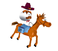 Pringles Pony Express Character Transparent
