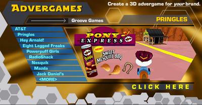 Pringles Pony Express Banner