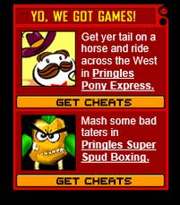 Pringles Game Icons