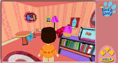 Blues Clues 3D House