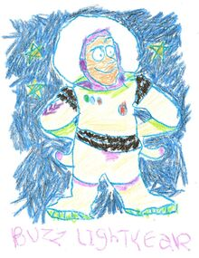 Toy Story 1 Buzz Lightyear Drawing
