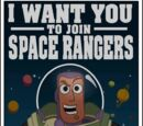 Toy Story Buzz Lightyear Space Rangers Poster