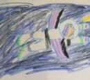 Toy Story 1 Buzz Lightyear Flying Drawing