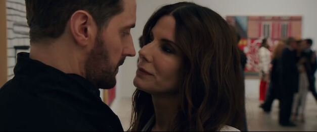 Sandra Bullock and Richard Armitage in 'Ocean's 8'