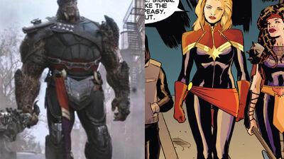 That Actually Isn't Captain Marvel's Sash in 'Infinity War'