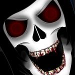 Darkness Emo Skull