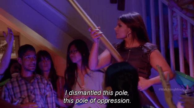 mindy project- pole of oppression