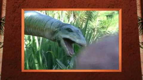 Apatosaurus Movie from 3-D Dinosaur Adventure MS-DOS Packard Bell Version