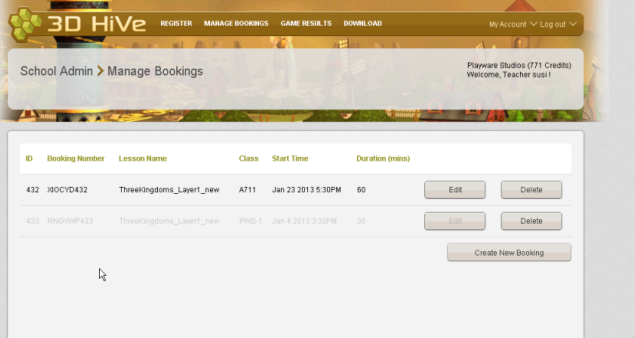 Scheduling Booking9
