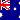 Flag 20x20 Australia