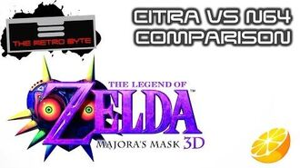 Majora's Mask 3D Citra vs N64 comparison - The Retro Byte