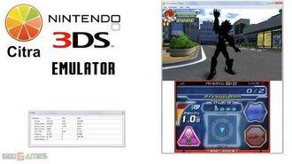Citra 3DS Emulator - Gaist Crusher God Gameplay HW renderer enabled!