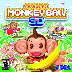 Super Monkey Ball 3D BoxCover