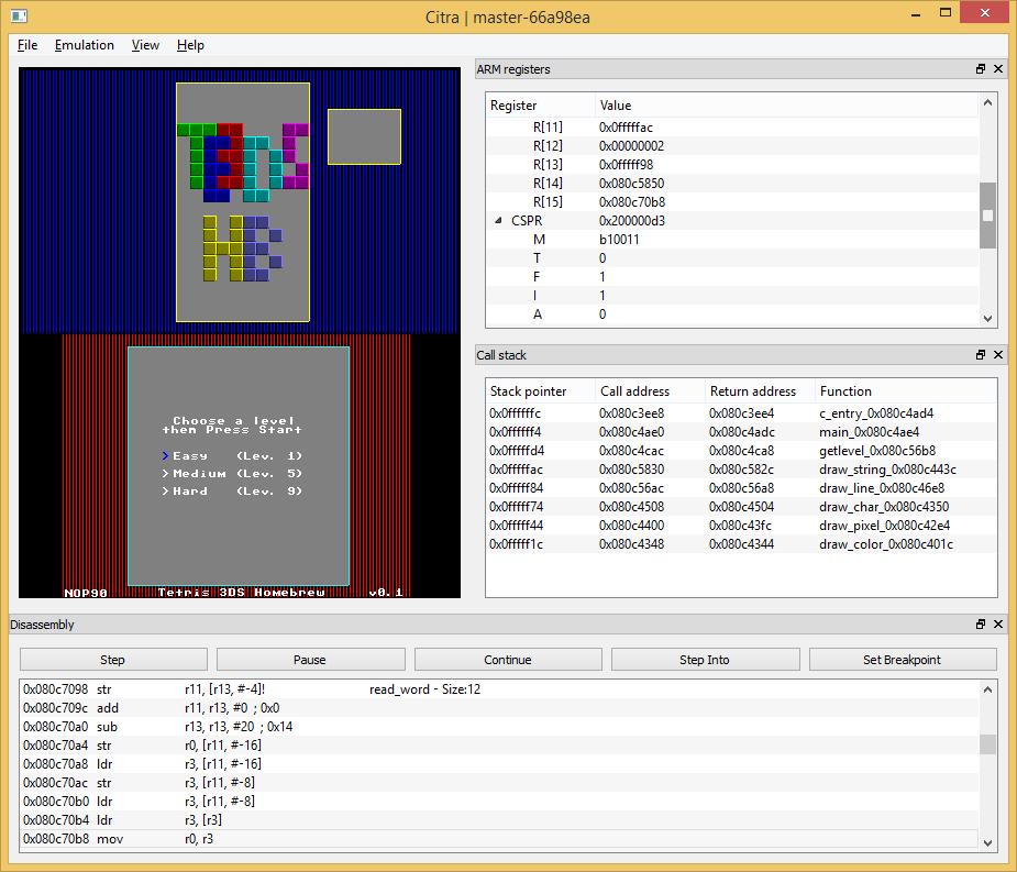nintendo 3ds emulator citra 32 bit