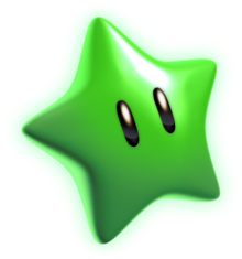 449px-Green Star Artwork - Super Mario 3D World