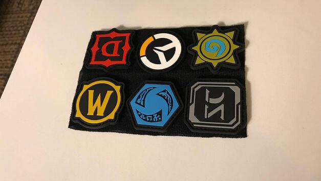 Blizzcon 2017 goodie bag badges