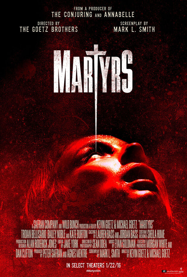 martyrs theatrical poster