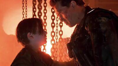 EXCLUSIVE: Schwarzenegger, Cameron Reflect on Emotional 'Terminator 2' End Scene