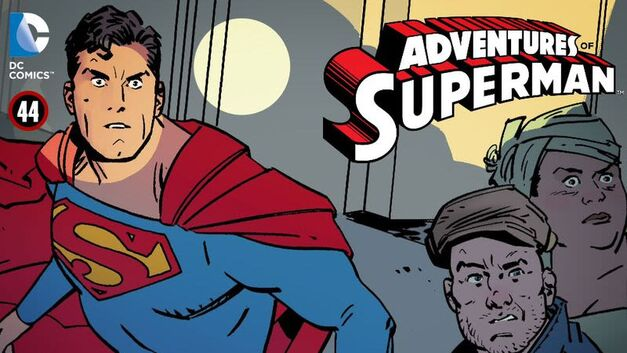 adventures of superman dc comics