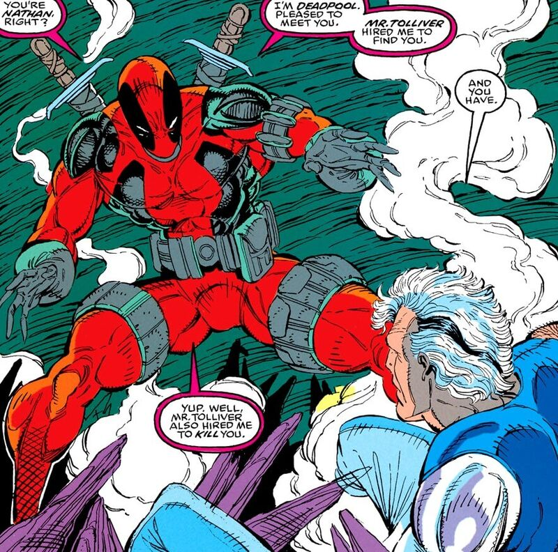 Deadpool First Appearance New Mutants 98