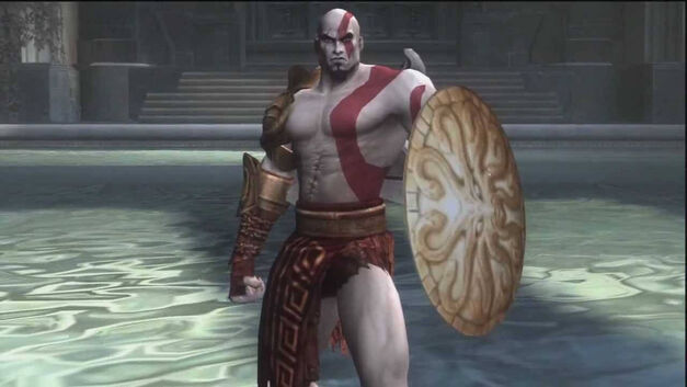 Kratos with Shield