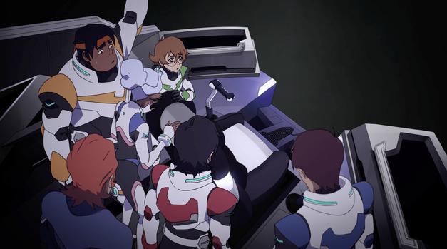Voltron season 2 Shiro gone