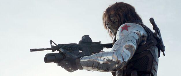 Nice arm, Bucky.