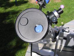 Solar filter front