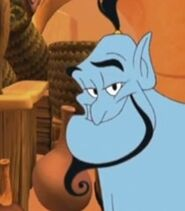 Genie in Disney's Math Quest With Aladdin
