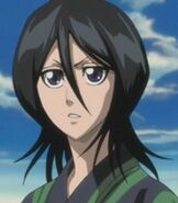 Rukia Kuchiki in Bleach Fade to Black