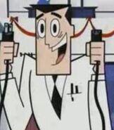 Professor Utonium in The Powerpuff Girls 'Twas the Fight Before Christmas