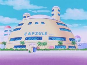 Capsule corp house