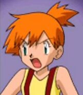 Misty in Pokemon Puzzle League