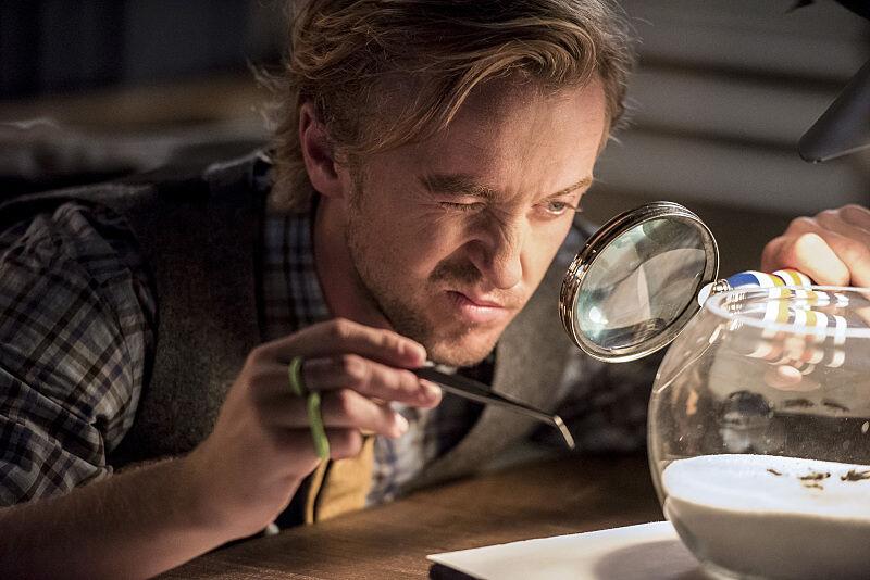 Tom Felton as Julian Albert on The Flash.