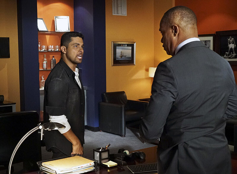 "Wilmer Valderrama as NCIS Special Agent Nicholas ""Nick"" Torres in the season premiere of NCIS."