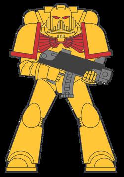 Colour scheme imperial fists