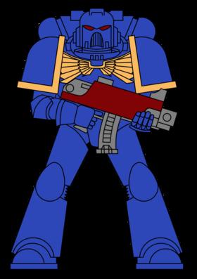 Colour scheme ultramarine