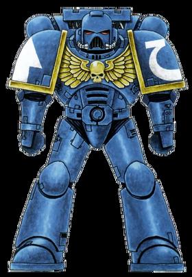 Colour scheme ultramarine official