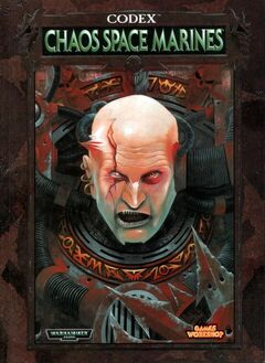 Codex Chaos Space Marines - 3rd Ed Cover