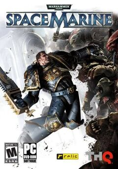 Warhammer 40000 space marine cover
