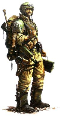 Human imperial guard