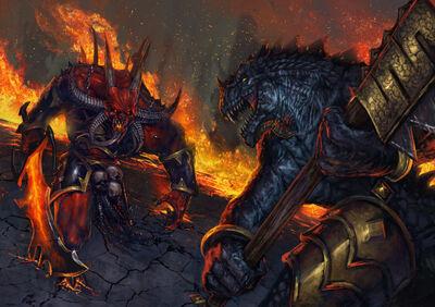 Kraglok vs demonio