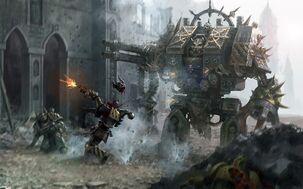 Guerreros de hierro Batalla Puños Imperiales