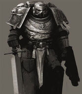 Hermano de Espada Cruzado Celeste